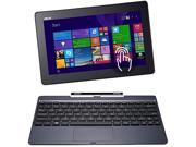 "ASUS Transformer Book T100TA-C2-EDU1 2-in-1 Laptop Intel Atom Z3740 (1.33 GHz) 64 GB SSD Intel HD Graphics Shared memory 10.1"" Touchscreen Windows 8.1 Pro 32-Bit (National Academic)"