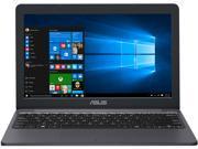 ASUS Laptop E203NA-YS02 Intel Celeron N3350 (1.1 GHz) 4 GB Memory 64 GB eMMC SSD Intel HD Graphics 500 11.6