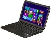 "HP TouchSmart Sleekbook Pavilion 15-b150us AMD A8-Series A8-4555M (1.60 GHz) 6 GB Memory 750 GB HDD AMD Radeon HD 7600G 15.6"" Touchscreen Windows 8"