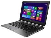 "HP Laptop ProBook 430 G2 (J8U83UT#ABA) Intel Core i3 4005U (1.7GHz) 4GB Memory 500GB HDD Intel HD Graphics 4400 13.3"" Windows 7 Professional 64-Bit with Windows 8.1 Pro License"