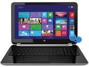 "HP Pavilion 15-N207CL Notebook AMD A-Series A10-4655M (2.00GHz) 8GB Memory 1TB HDD AMD Radeon HD 7620G 15.6"" Touchscreen Windows 8.1 64-Bit"
