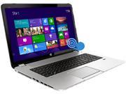 "HP ENVY 17-J141NR Notebook Intel Core i7 4700MQ (2.40GHz) 16GB Memory 1 TB + 8 GB SSHD HDD NVIDIA GeForce GT 740M 17.3"" Touchscreen Windows 8.1 64-Bit"