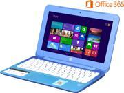 "HP Laptop Stream 11-d010nr Intel Celeron N2840 (2.16 GHz) 2 GB Memory 32 GB eMMC SSD Intel HD Graphics 11.6"" Windows 8.1 with Bing"