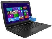 "HP Laptop 15-f100dx AMD A-Series A8-6410 (2.00GHz) 4GB Memory 500GB HDD AMD Radeon HD 8210 15.6"" Touchscreen Windows 8.1 64-Bit"