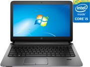 "HP ProBook 430 G2 (L8D91UT#ABA) 13.3"" Laptop W7P/W8.1P Intel Core i5 5200U (2.20 GHz) 4 GB DDR3 128 GB SSD Intel HD Graphics 5500 1366 x 768 English keyboard"