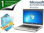 "HP Laptop EliteBook 2560p Intel Core i5 2.53GHz 4GB Memory 250GB HDD Intel HD Graphics 12.5"" Windows 7 Professional 64-Bit"