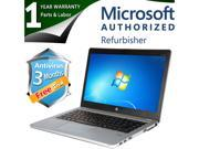 "HP Laptop EliteBook Folio 9470M Intel Core i7 3687U (2.10 GHz) 8 GB Memory 256 GB SSD 14.0"" Windows 7 Professional 64 Bit"