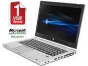 "HP Laptop EliteBook 8470P Intel Core i5 2.80 GHz 8 GB Memory 128 GB SSD 14.0"" Windows 7 Professional"