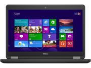 "DELL Laptop Latitude E5450 Intel Core i5 5300U (2.30 GHz) 4 GB Memory 500 GB HDD 8 GB SSD Intel HD Graphics 5500 14.0"" Windows 8.1 Pro 64-Bit"