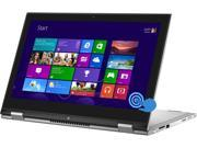 "DELL Inspiron 13-7347 Laptop Intel Core i5 4210U (1.70 GHz) 500 GB HDD Intel HD Graphics 4400 Shared memory 13.3"" Touchscreen Windows 8.1 64-Bit"