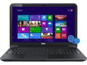 "DELL  Inspiron  i15RVT-6195BLK  NotebookIntel Core i3  4010U (1.7GHz)  4GB  Memory 500GB  HDD DVD±R/RW Webcam Intel HD Graphics 4400  15.6""  Touchscreen Windows 8.1"