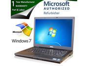"DELL Laptop E6410 Intel Core i5 520M (2.40GHz) 4GB Memory 250GB HDD Intel HD Graphics 14.1"" Windows 7 Professional 64-Bit"