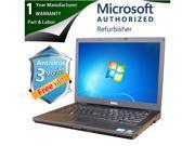"DELL Laptop E6410 Intel Core i5 520M (2.40GHz) 4GB Memory 500GB HDD Intel HD Graphics 14.1"" Windows 7 Professional 64-Bit"