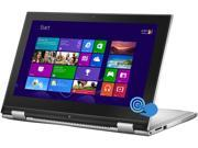"DELL Inspiron 11 i3147-3750sLV Intel Pentium 4 GB Memory 500 GB HDD 11.6"" Touchscreen 2-in-1 Windows 8.1 64-Bit"