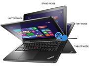 "ThinkPad Yoga 20CD0032US Intel Core i5 4GB Memory 128GB HDD 128GB SSD 12.5"" Touchscreen Ultrabook Windows 8.1"