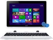 "Acer SW5-012-11SK Intel Atom Z3735F (1.33GHz) 2 GB DDR3L Memory 64GB SSD 10.1"" Touchscreen 2-in-1 Ultrabook Windows 8.1 32-Bit with Bing"