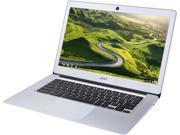 "Acer CB3-431-C5FM Chromebook Intel Celeron N3160 (1.60 GHz) 4 GB Memory 32 GB SSD 14.0"" Chrome OS"
