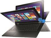 "Lenovo Yoga 2 Pro 13.3"" Multimode Laptop with Intel Core i5-4200U 1.6Ghz (2.6Ghz Turbo), 4GB DDR3L RAM, 128GB SSD, WQXGA+ QHD+ 3200x1800 IPS 10 Point Multi Touch Display, 360 Degrees Hinge"