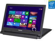 "Lenovo Laptop Flex 2 15 (59422542) Intel Core i3 4030U (1.90GHz) 4GB Memory 500GB HDD 8GB SSD Intel HD Graphics 4400 15.6"" Touchscreen Windows 8.1"
