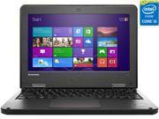"Lenovo ThinkPad 11e 20ED000EUS 11.6"" LED Notebook - AMD A-Series A4-6210 Quad-core (4 Core) 1.80 GHz - Graphite Black"