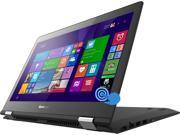 "Lenovo Flex 3 Convertible Laptop Intel Core i5 5200U (2.20GHz) 8GB Memory 500GB HDD 8GB SSD Intel HD Graphics 5500 Shared memory 14"" Touchscreen Windows 8.1 360° Flexibility"