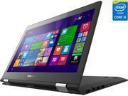 "Lenovo Flex 3 Convertible Laptop Intel Core i5 5200U (2.20GHz) 8GB Memory 500GB HDD 8GB SSD Intel HD Graphics 5500 Shared memory 14"" Touchscreen Windows 8.1 360° Flexibility"