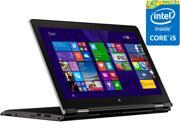 "Lenovo ThinkPad Yoga 15 20DQ001KUS 2in1 Laptop 15.6"" - Intel Core i5-5200U (2.20 GHz) 8GB Memory 180GB SSD NVIDIA Geforce 840M Windows 8.1 Pro In-plane Switching (IPS) Technology Wireless LAN"