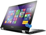 "Lenovo Flex 3 15 2-in-1 Laptop Intel Core i5 5200U (2.20GHz) 4GB Memory 500GB HDD Intel HD Graphics 5500 Shared memory 15.6"" Touchscreen Windows 8.1"