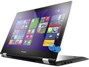 "Lenovo Flex 3 15 2-in-1 Laptop Intel Core i7 5500U (2.40GHz) 8GB Memory 1TB HDD Intel HD Graphics 5500 Shared memory 15.6"" Touchscreen Windows 8.1 360° Flexibility"