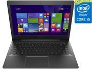 "Lenovo S41-70 80JU000TUS 14"" Full HD Notebook - Intel Core i5-5200U Dual-core (2 Core) 2.20 GHz 4 GB Memory 500GB HDD + 8GB SSD Windows 8.1 - Black"
