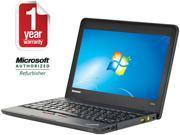 "ThinkPad Laptop X131E Intel Core i3 1.40 GHz 4 GB Memory 320 GB HDD 11.6"" Windows 7 Professional"