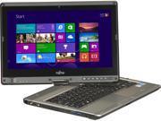 "Fujitsu Tablet PC LifeBook T902 (SPFC-T902-002) Intel Core i5 3320M (2.60 GHz) 4 GB Memory 500 GB HDD Intel HD Graphics 4000 13.3"" Windows 8 Pro 64-Bit"