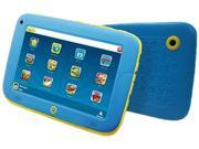 "Computer King Muffin Kinder 7 Blue ARM Cortex-A9 1GB DDR3 Memory 8GB Flash 7.0"" Touchscreen Tablet Android 4.2 (Jelly Bean)"