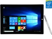 "Microsoft Surface Pro 3 Intel Core i3 4 GB Memory 64 GB 12.0"" Touchscreen Tablet PC Windows 10 Pro"