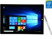 "Microsoft Surface Pro 3 Intel Core i5 4 GB Memory 128 GB SSD 12.0"" Touchscreen Tablet PC Windows 10 Pro"
