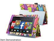 "Insten Graffiti Folio Stand Leather Case Cover for Amazon Kindle Fire HD 7"" (2014 Version) 1990741"