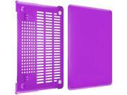 INSTEN Purple Snap in Rubber Case compatible with Apple MacBook Pro with Retina Display 13 Model 1994574