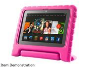 i Blason Pink Kid Friendly Convertable Stand Cover Case Model KindleHDX7 Kido Pink