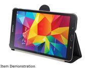 STM Black skinny pro Carrying Case Folio for Galaxy Tab4 8.0 Model stm 222 081H 01