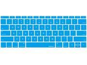 macally Blue MacBook Keyboard Cover Model KBGuardMBBL