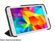 roocase Granite Black / Cool Gray Origami 3D Slim Shell Folio Case Cover for Samsung Galaxy Tab 4 7.0 /GALX7-TAB4-OG-GB/CG