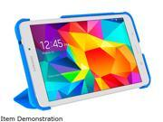 roocase Pacific Blue / Barbados Blue Origami 3D Slim Shell Folio Case Cover for Samsung Galaxy Tab 4 7.0 /GALX7-TAB4-OG-PB/BB
