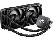 Cooler Master Nepton 240M - CPU Water Cooling System, All-In-One Kit with 240mm Radiator and 2 Silencio Fans
