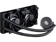 MasterLiquid 240 All in one CPU Liquid Cooler with Dual Chamber Pump by Cooler Master