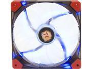 Thermaltake CL-F021-PL14BU-A 140mm Luna 14 Series BLUE LED High Airflow Case Fan