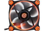 Thermaltake Riing 12 Series High Static Pressure 120mm Circular Orange LED Ring Case/Radiator Fan CL-F038-PL12OR-A