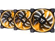 Thermaltake CL-F049-PL12SW-A 256 Color (Software Selected) LED Riing 12 RGB Premium Edition Software Enabled Circular Case/Radiator Fan