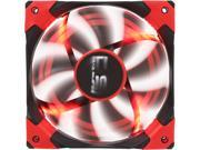Image of AeroCool DS 120mm Red Patented Dual layered blades with noise and shock reduction frame