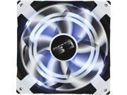 Image of AeroCool DS 140mm White Patented Dual layered blades with noise and shock reduction frame