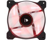 Corsair Air Series AF120 LED 120mm Quiet Edition High Airflow Fan Single Pack - Red (CO-9050015-RLED)